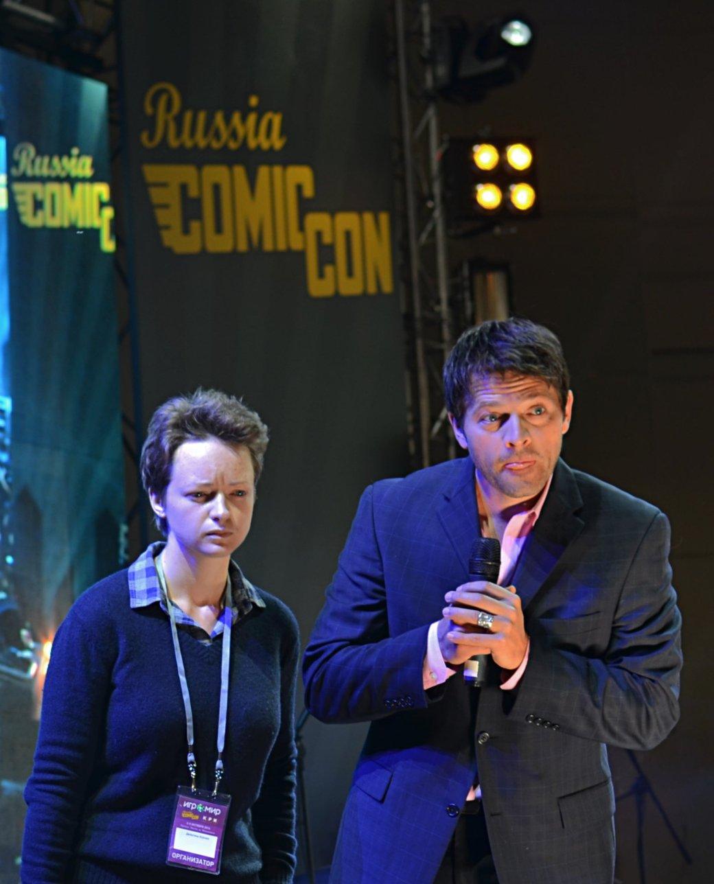 Фотоотчет с «Игромира» и Comic Con Russia, день 3 – Миша Коллинз - Изображение 33