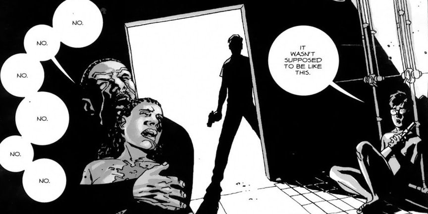12 самых жестоких сцен в комиксе «Ходячие мертвецы». - Изображение 4