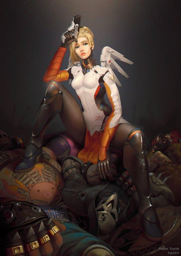Какими героями штурмовать соревновательный режим Overwatch? - Изображение 4