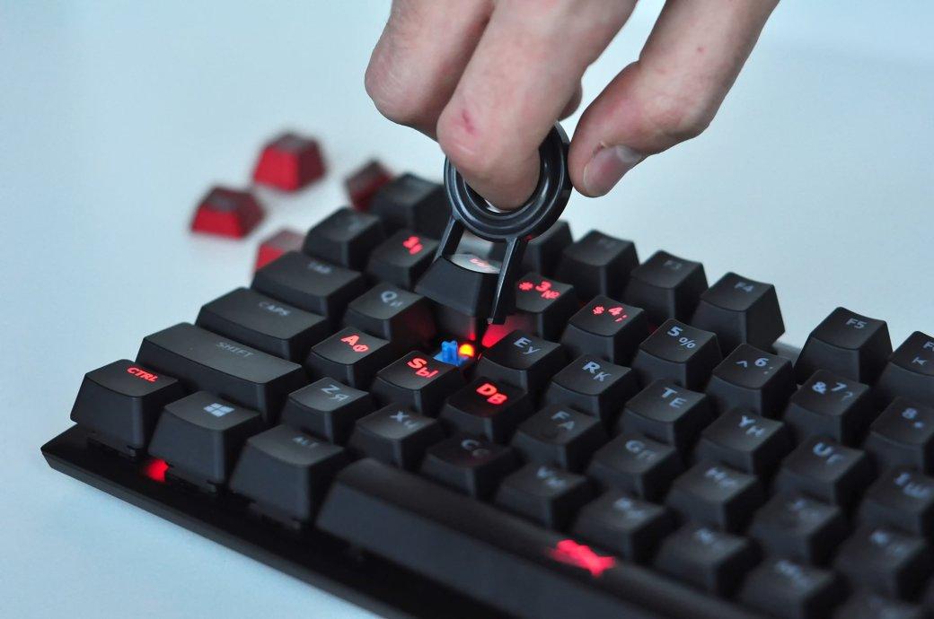Обзор механической клавиатуры HyperX Alloy FPS - Изображение 8