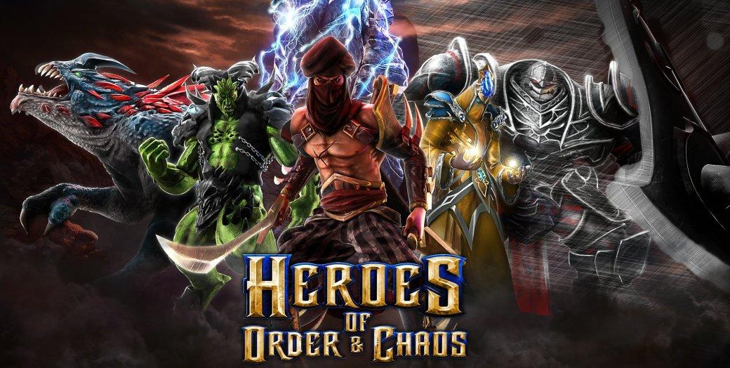 Twitch встроили в мобильную MOBA-игру Heroes of Order & Chaos - Изображение 1