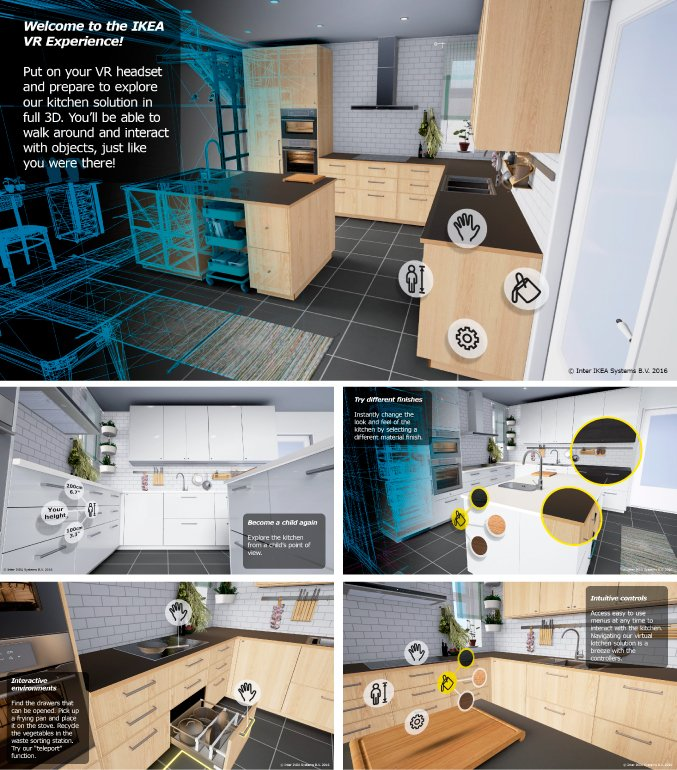 IKEA предлагает побывать на кухне мечты при помощи VR - Изображение 1