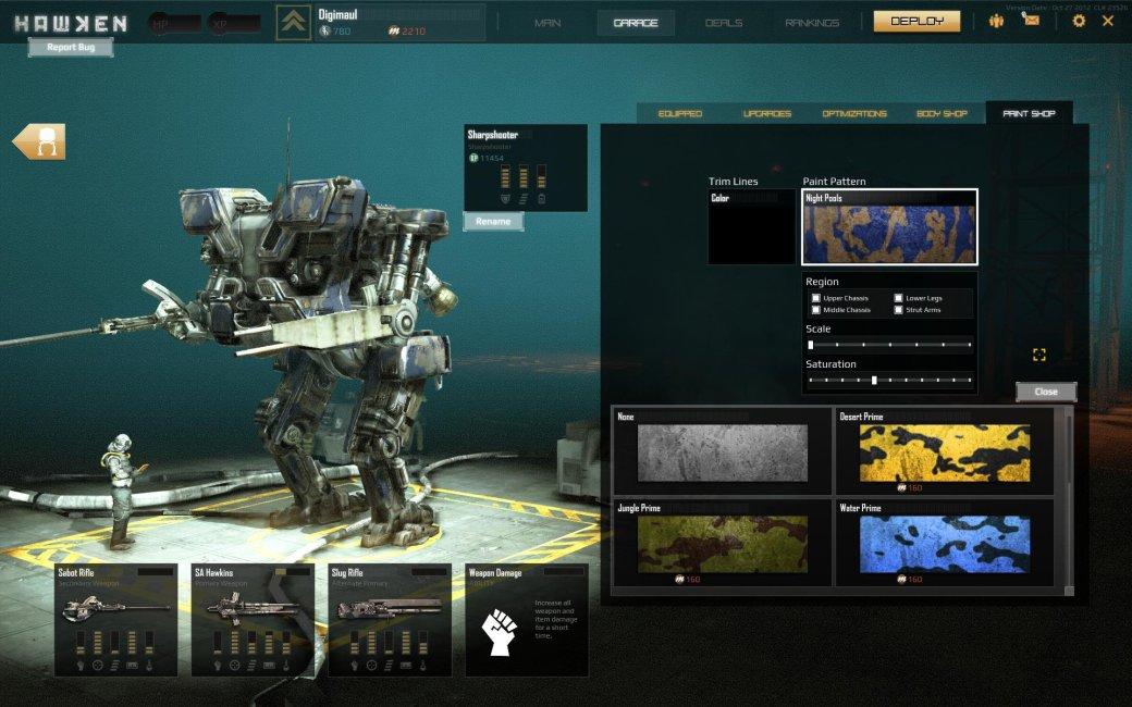Mechwarrior Online VS Hawken: Битва роботов - Изображение 10