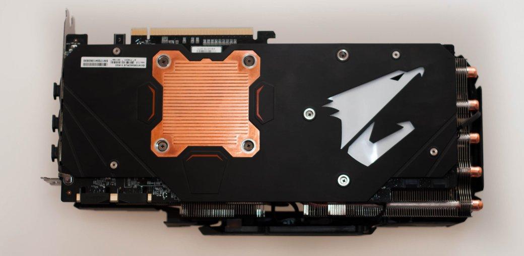 Обзор видеокарты Aorus GTX 1080 Xtreme Edition 8G - Изображение 6