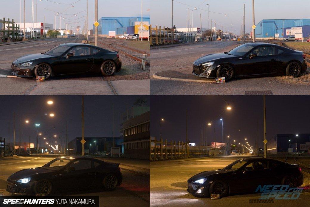 Найдите 10 отличий: скриншот из Need for Speed против фотографии - Изображение 1