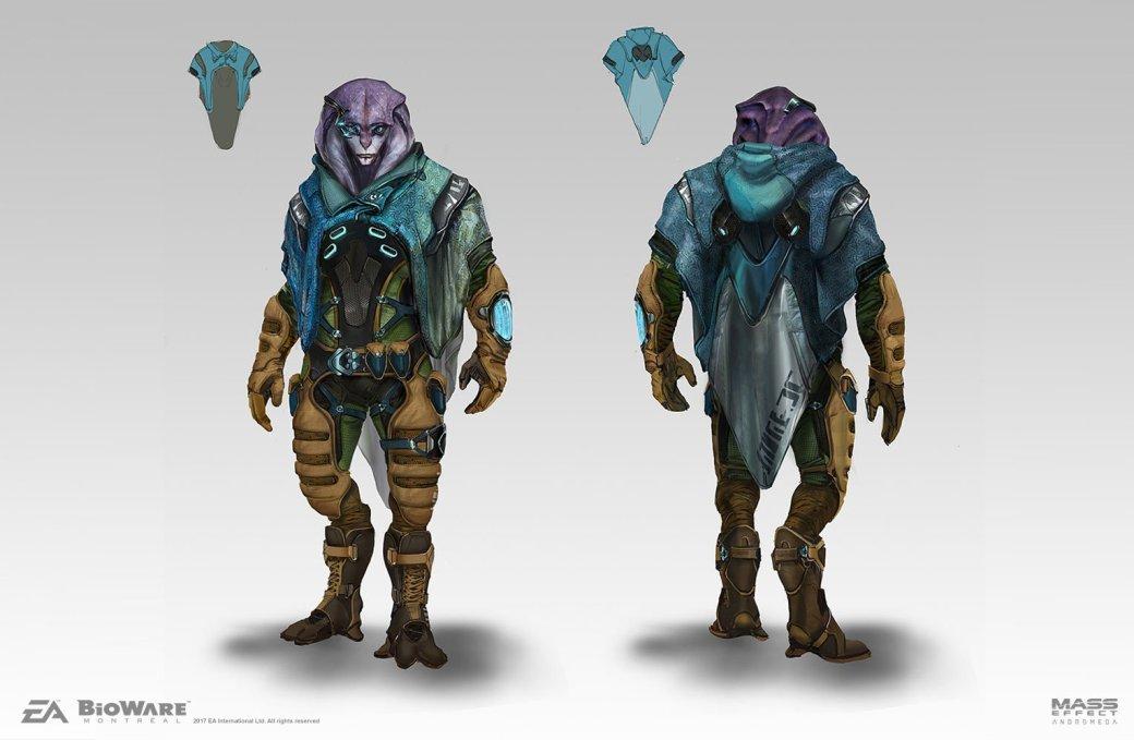 Художники BioWare показали ранние арты Mass Effect: Andromeda - Изображение 3