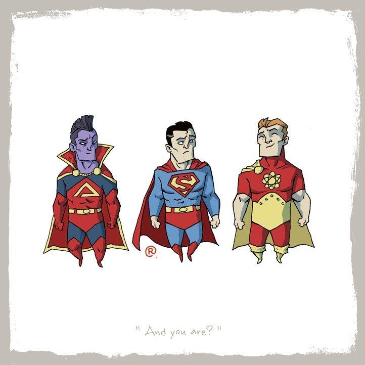Как Marvel персонажей DC воровала (и наоборот). - Изображение 24