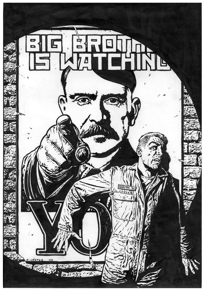 Ода абсолютной власти: Джордж Оруэлл, «1984» - Изображение 6