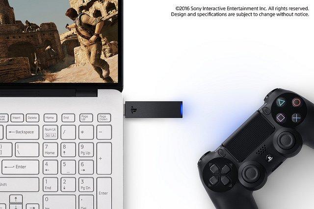 Sony анонсировала беспроводной адаптер для DualShock 4 и PC/Mac - Изображение 1