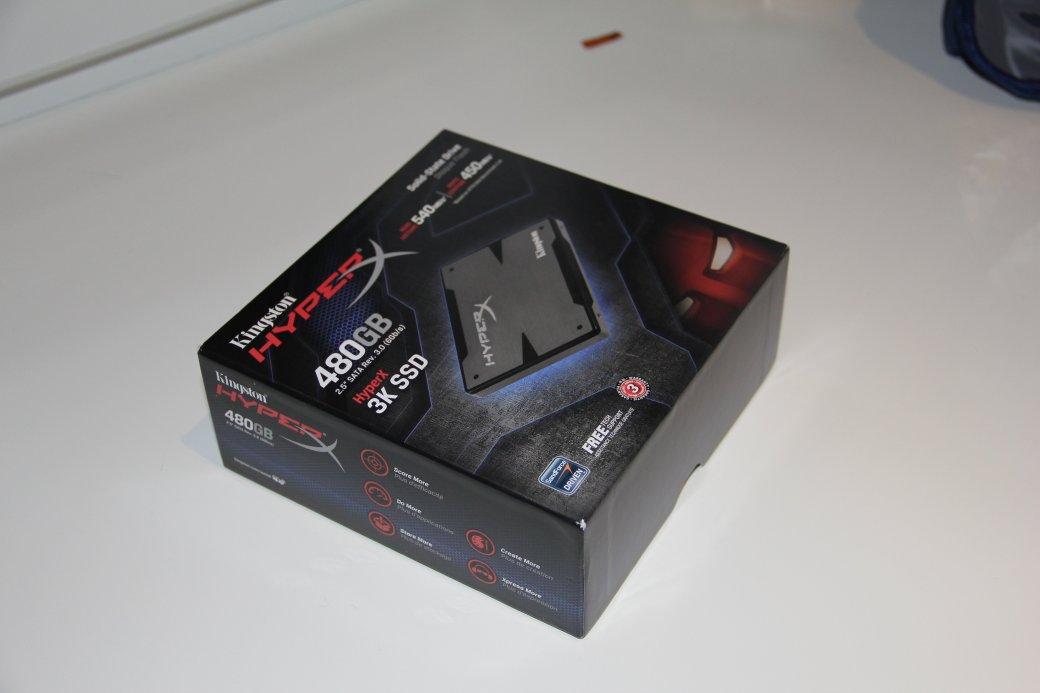 Горячее железо: Kingston HyperX 3K SSD 480GB - Изображение 3