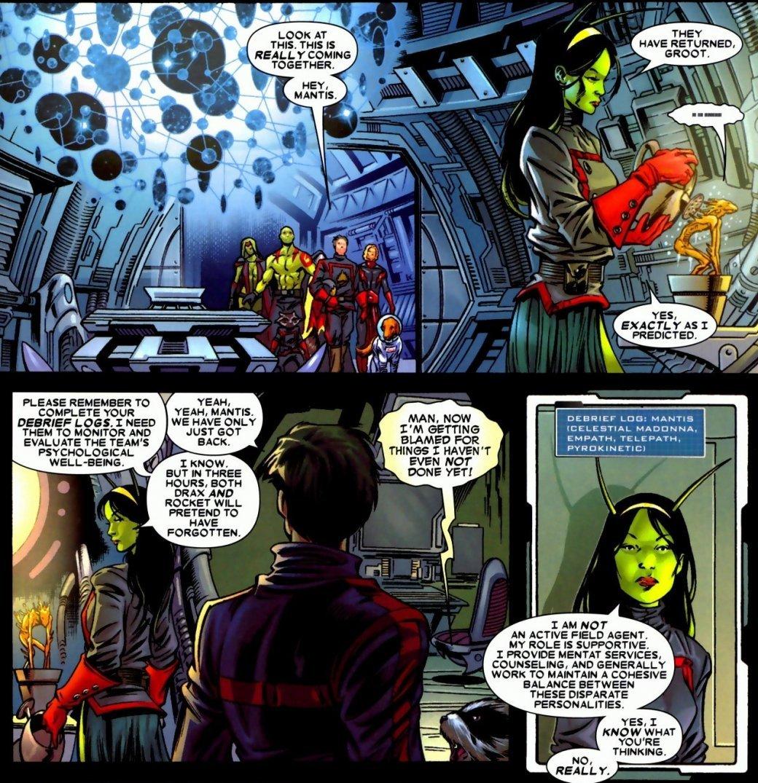 Создатель Мантис недоволен образом персонажа в «Стражах Галактики 2» - Изображение 1