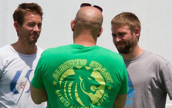 Вин Дизель появился с братьями Пола Уокера на съемках «Форсажа 7» - Изображение 1