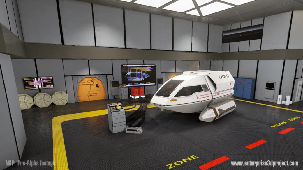 «Энтерпрайз» из Star Trek воссоздан с поддержкой Oculus VR. - Изображение 1