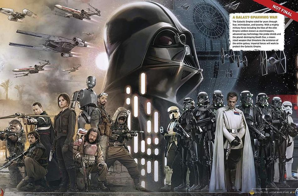 Книга-компаньон подтвердила участие Дарта  Вейдера в Rogue One. - Изображение 1