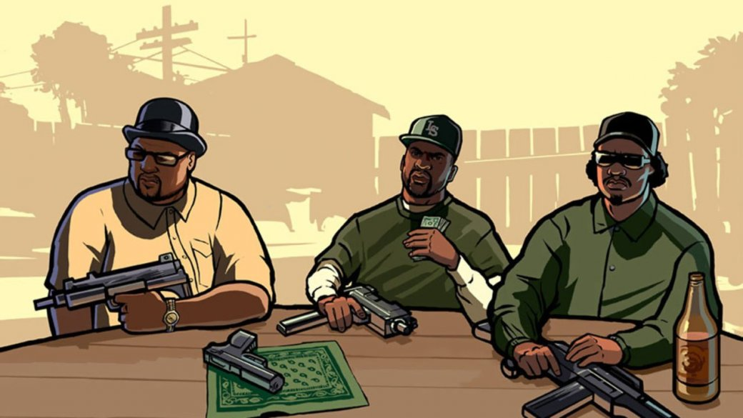 Мобильная GTA: San Andreas и другие любопытные игры - Изображение 1