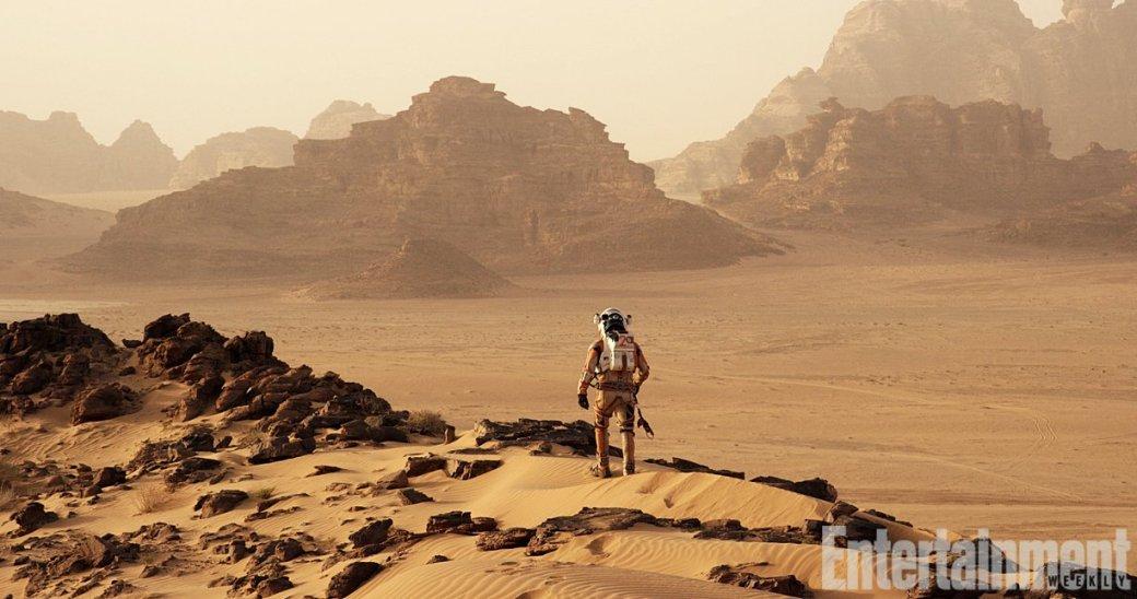Первые кадры «Марсианина» Ридли Скотта уже порождают мемы - Изображение 5