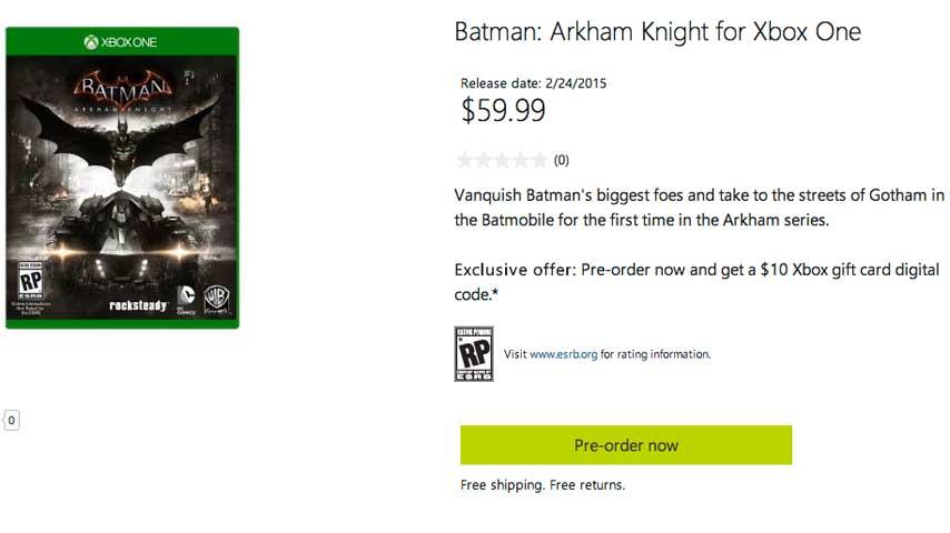 Batman: Arkham Knight выйдет в феврале 2015 года  - Изображение 1