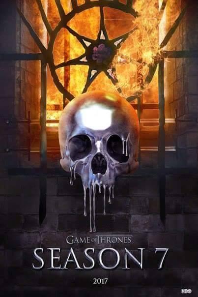 Постер седьмого сезона «Игры престолов» обещает— будет жарко - Изображение 1
