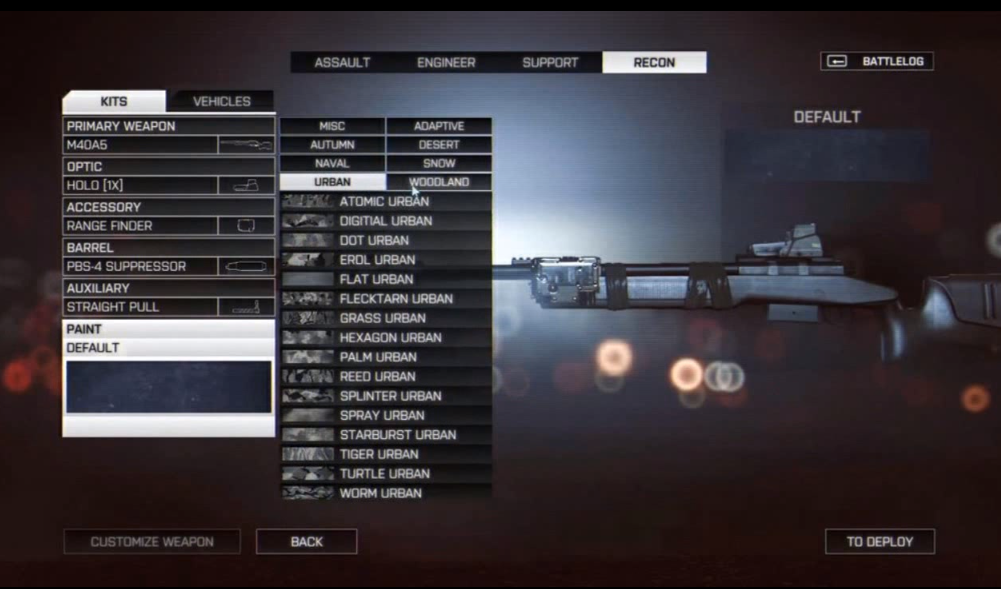 Камуфляж оружия в Battlefield 4 - Изображение 7
