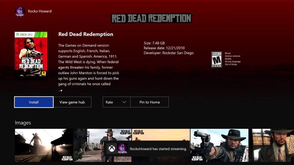 Red Dead Redemption появилась на Xbox One. - Изображение 2