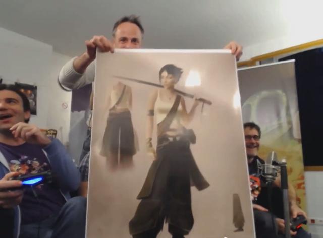 Джейд позирует с катаной на концепт-арте Beyond Good & Evil 2  - Изображение 1