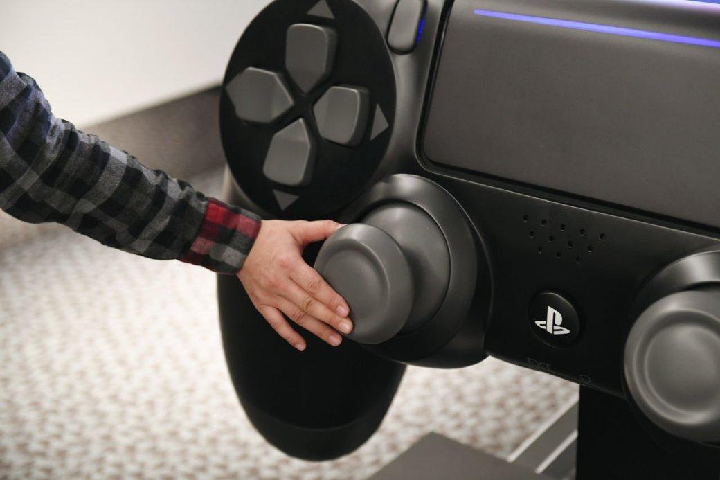 Размерчик что надо! Самый большой контроллер PlayStation 4 вмире - Изображение 5
