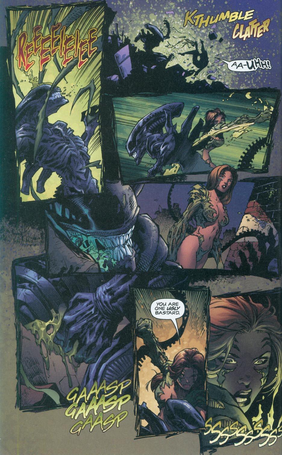 Бэтмен против Чужого?! Безумные комикс-кроссоверы сксеноморфами. - Изображение 24