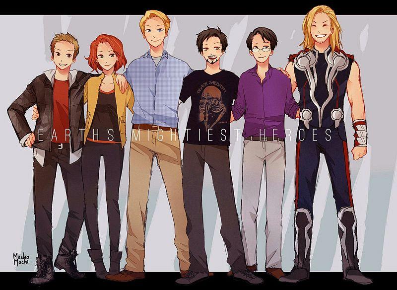 Галерея вариаций: Мстители-женщины, Мстители-дети... - Изображение 121