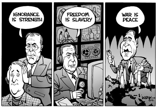 Ода абсолютной власти: Джордж Оруэлл, «1984» - Изображение 7