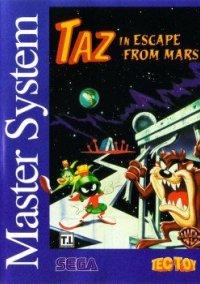 Taz in Escape from Mars – фото обложки игры