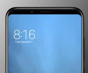Какие тонкие рамки! Появился рендер Xiaomi Mi 7