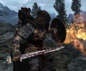 Гифка дня: щит левитации вThe Elder Scrolls 5: Skyrim