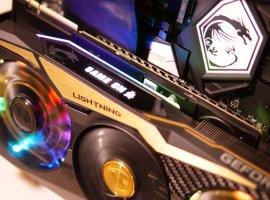 MSI представила видеокарту GeForce RTX 2080 Ti Lightning Z: OLED-экран и 11 ГБ видеопамяти GDDR6