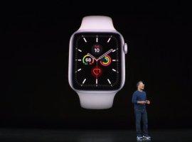 Новые часы Apple Watch Series5 никогда небудут гасить циферблат
