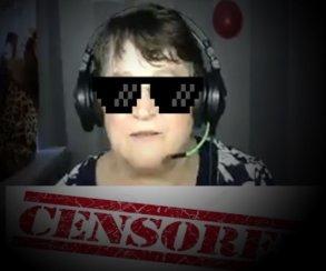 Бабушка изСибири стримит Minecraft иодаривает внуков надонаты