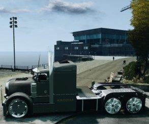 Гифка дня: большие проблемы сгрузовиком вGrand Theft Auto5