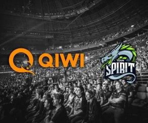 QIWI стала генеральным партнером российской организации Team Spirit