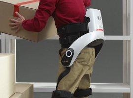 LGCLOi SuitBot: стильный экзоскелет для подъема тяжелых грузов