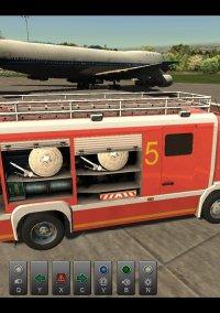 Airport Firefighter Simulator – фото обложки игры