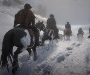 Гифка дня: человек против лошади вRed Dead Redemption2