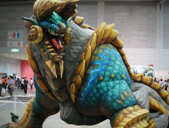 Репортаж с Monster Hunter Festa 2013