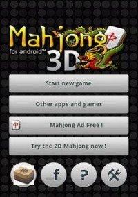 Mahjong 3D – фото обложки игры