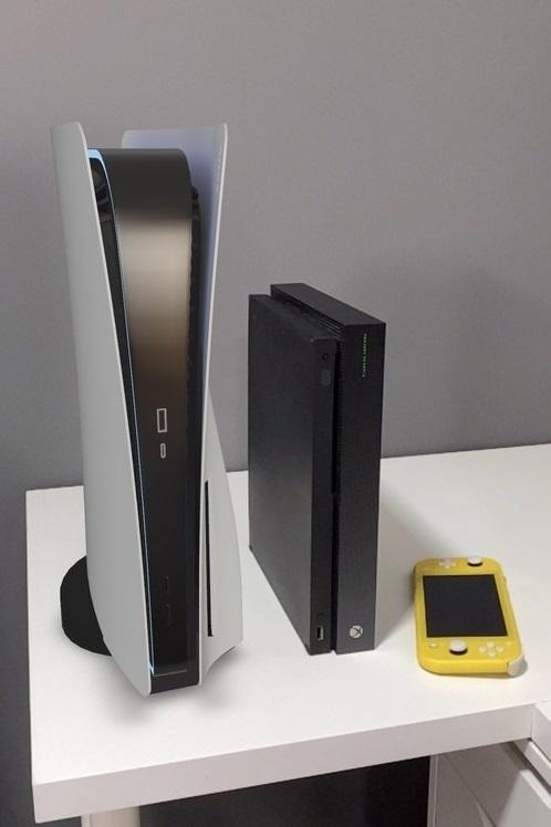 Наглядное сравнение размеров консолей Sony PlayStation 5 иXbox One X   Канобу - Изображение 5494