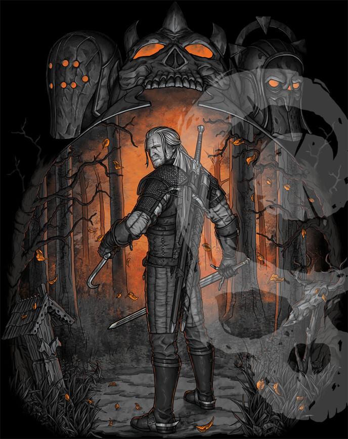 Галерея. Крутейший фанарт по«Ведьмаку», откоторого сразуже хочется перепройти трилогию игр | Канобу - Изображение 6285