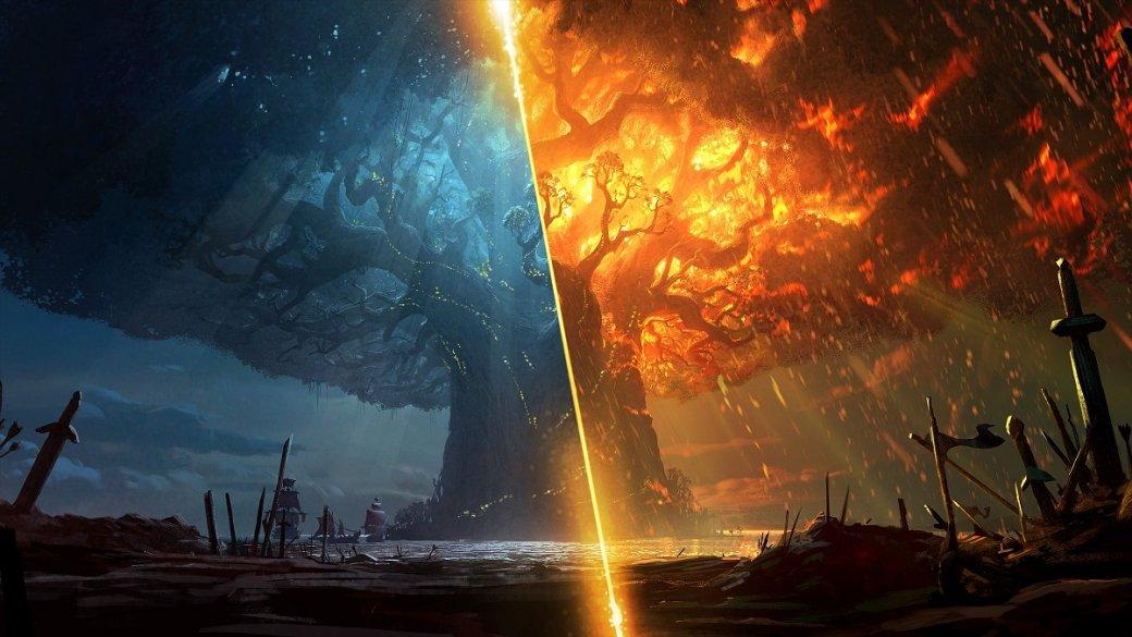 Blizzard бесплатно выпустила новеллы про сожжение Тельдрассила— сточки зрения Альянса иОрды. - Изображение 1