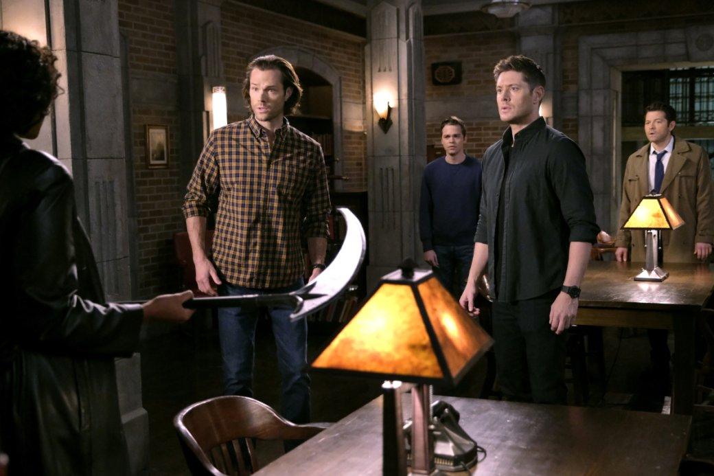 Впечатления от 2 половины 15 сезона Supernatural. Диалог соСмертью ивозвращение Руби | Канобу - Изображение 303