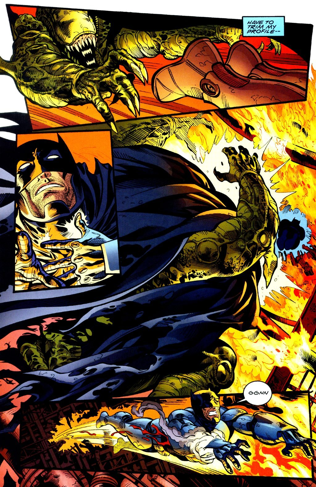 Бэтмен против Чужого?! Безумные комикс-кроссоверы сксеноморфами | Канобу - Изображение 19