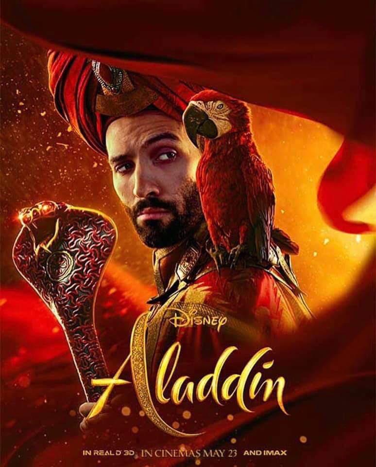 Нановых постерах «Аладдина» представили вовсей красе персонажей будущего фильма | Канобу - Изображение 5