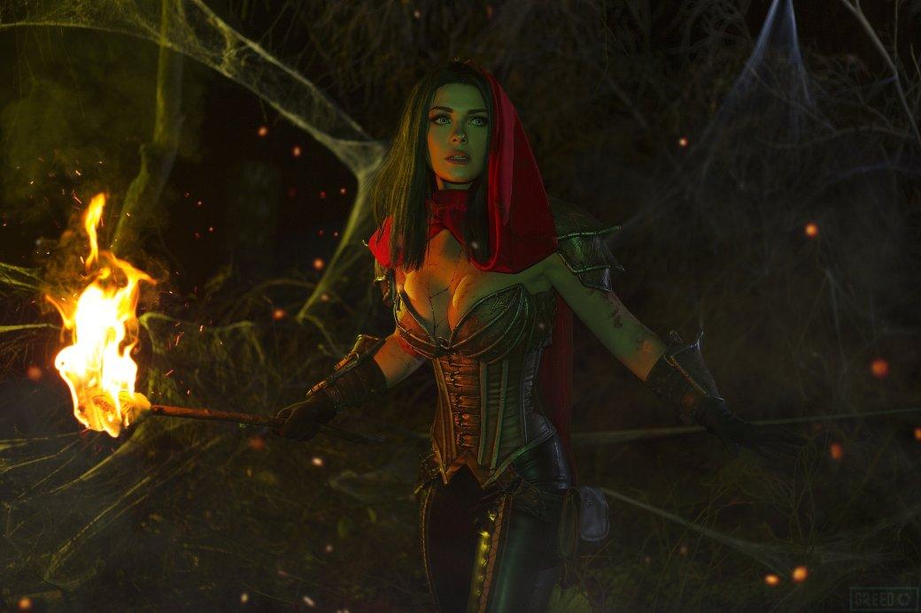 Горячий косплей Охотницы на демонов из Diablo III   Канобу - Изображение 8