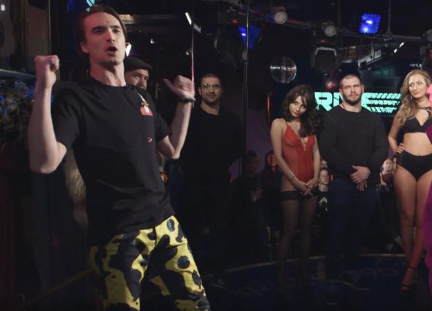 Судья Versus Дмитрий Егоров провел баттл своей лиги в стрип-клубе